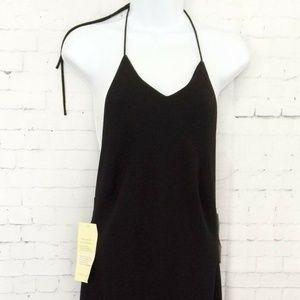 Lauren Ralph Lauren Black Simple Elegant Backless